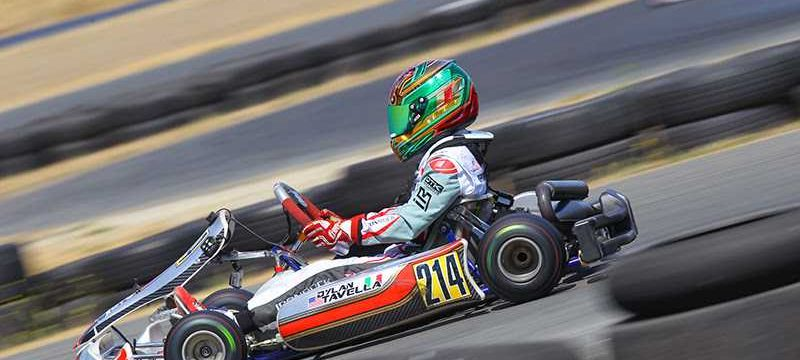 Dylan Tavella will be competing in the Rotax Grand finals in Italy Photo Cody Schindel