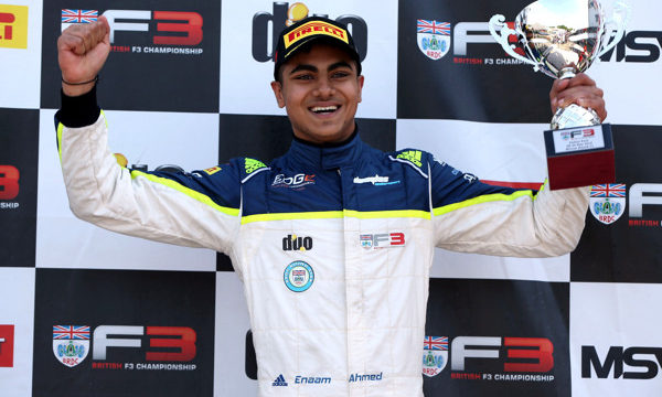 Ahmed took one win in BRDC British F3 last year with Douglas Motorsport