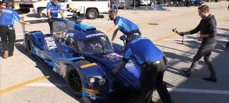 LMP2 24 hours of Daytona testing