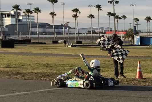 Team CRP wins in Daytona