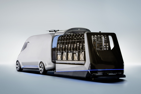 Vision Van cargo loading concept