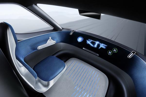 Vision Van interior concept