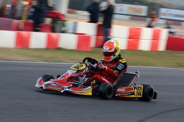 Alberto Cavalieri, KZ2