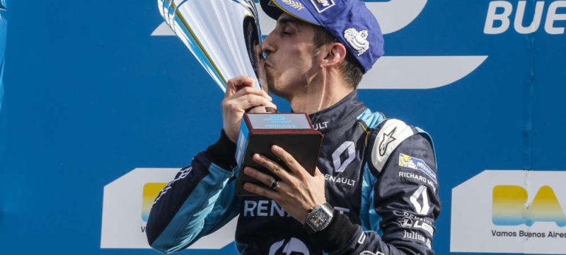 Renault e.dams win Buenos Aires ePrix