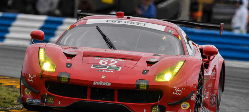 THIRD PLACE IN SPRINT FOR FERRARI OF RISI COMPETIZIONE