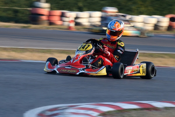 MARANELLO KART SATISFIED  BY MOSCA AND CAVALIERI'S PERFORMANCE  IN KZ2 AT THE WINTER CUP