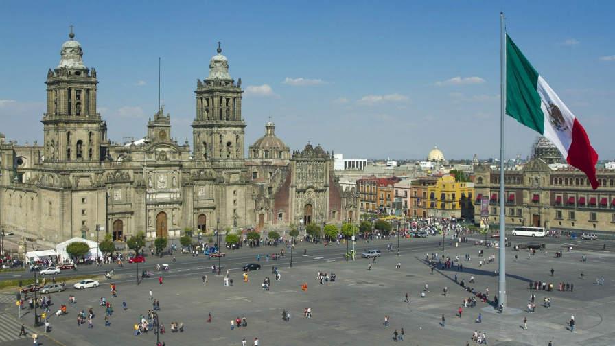 WRC hits Mexico City!