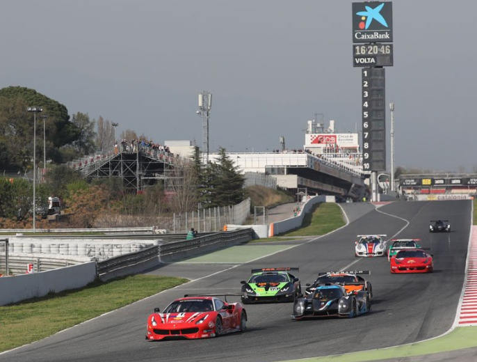 VDEV ENDURANCE – DOUBLE PODIUM FOR FERRARI IN BARCELONA