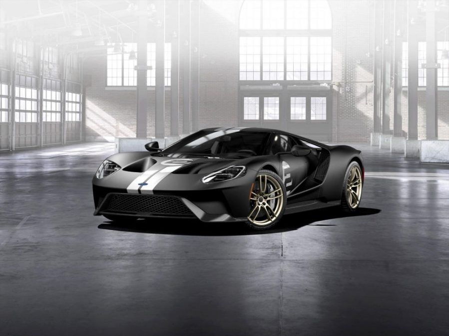 All new Ford GT supercar
