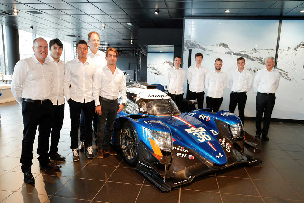 Alpine today presented the Signatech Alpine Matmut team's programme for the 2017 FIA World Endurance Championship (WEC) at its new showroom.