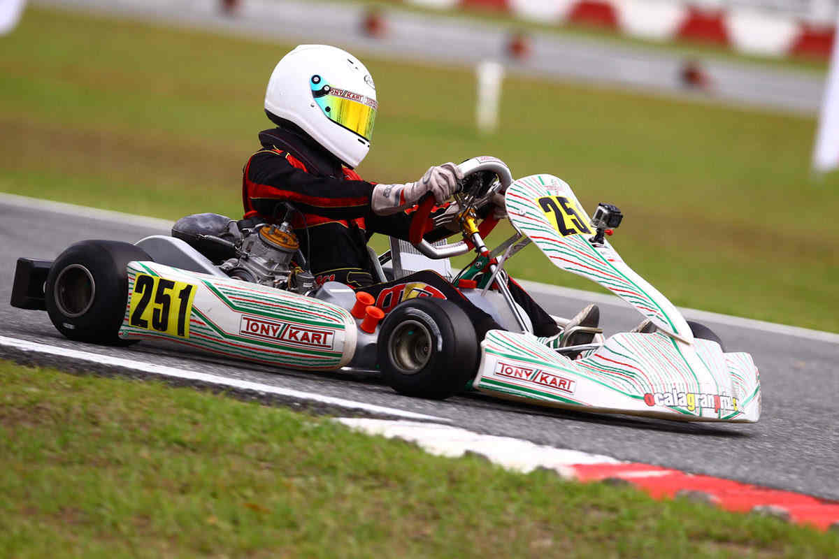 Dylan Gennaro is the Vortex ROK Junior Vice Champion (Photo Cody Schindel CanadianKartingNews.com)