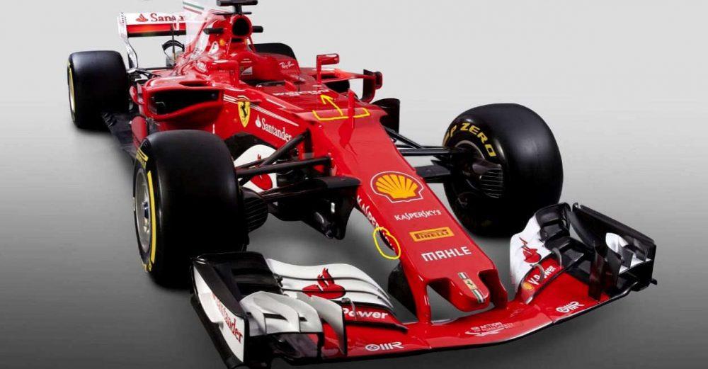 Ferrari SF70H analysis