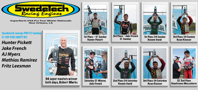 Five wins and eleven podiums for the California engine builder