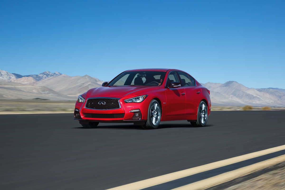 INFINITI to unveil new Q50 with holistic performance technologies at Geneva