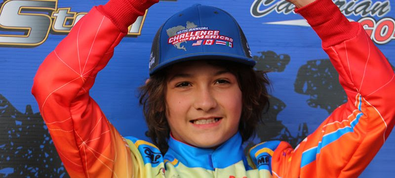 Jak Crawford swept the Junior MAX class at COTA round two in Phoenix