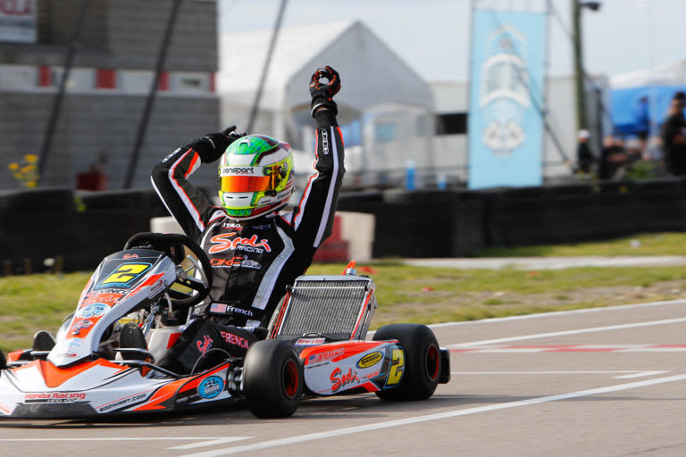 Jake French took SwedeTech to the top in S1 at NOLA (Photo www.OTP.ca)