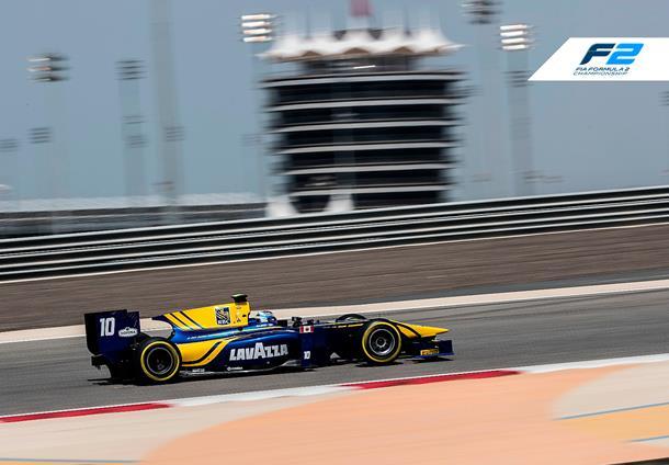 Latifi tops second morning in Bahrain