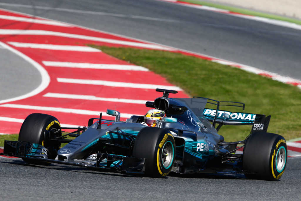 Mercedes 2017 Pre-Season Test 2, Day 1 Report