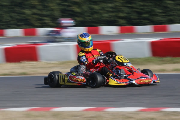 Nicolas Gonzales, Maranello Kart, KZ2