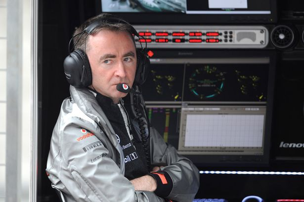 Paddy Lowe for Williams f1