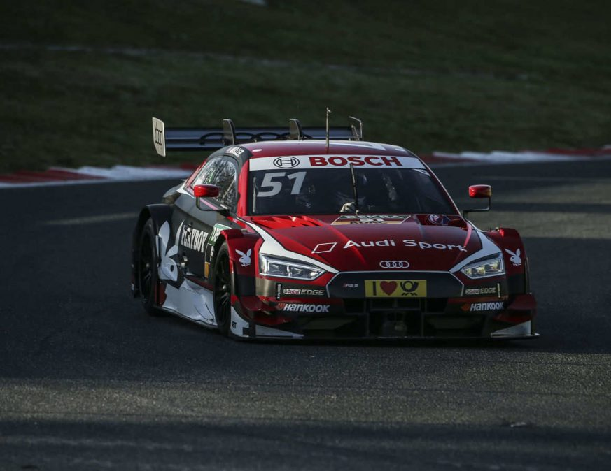 Race track debut for the new Audi RS 5 DTM