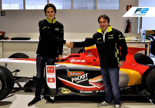 Ralph Boschung joins Campos Racing for 2017 FIA Formula 2 season