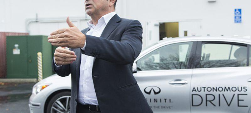 "Infiniti: Hands-free: What it's like to ""Drive"" an autonomous drive car"