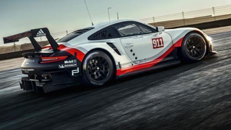 Porsche announces WEC driver pairings for the new 911 RSR