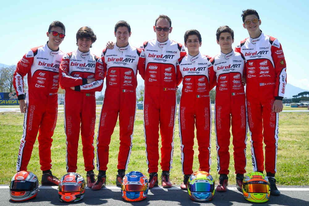Tough racing in Sarno For the Birel Art Factory Team