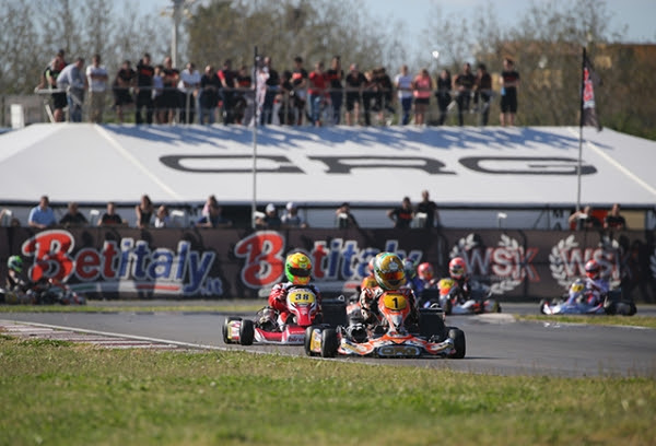 CRG IN SARNO FOR THE WSK CLOSER  EYING THE EUROPEAN CHAMPIONSHIP