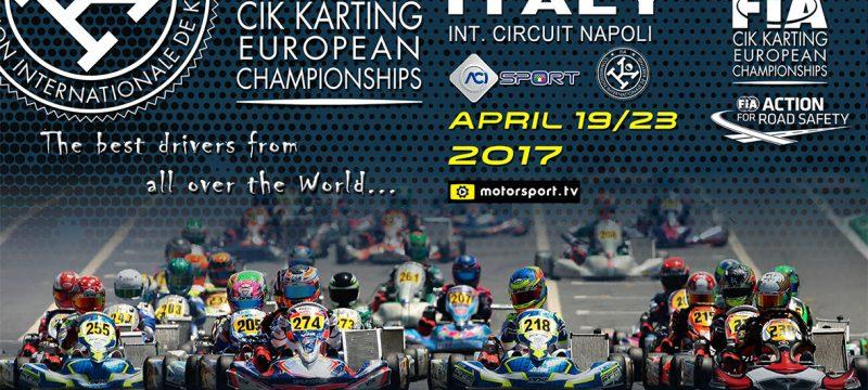 The European CIK-FIA Championship for KZ, OK and OK Junior is ready to start