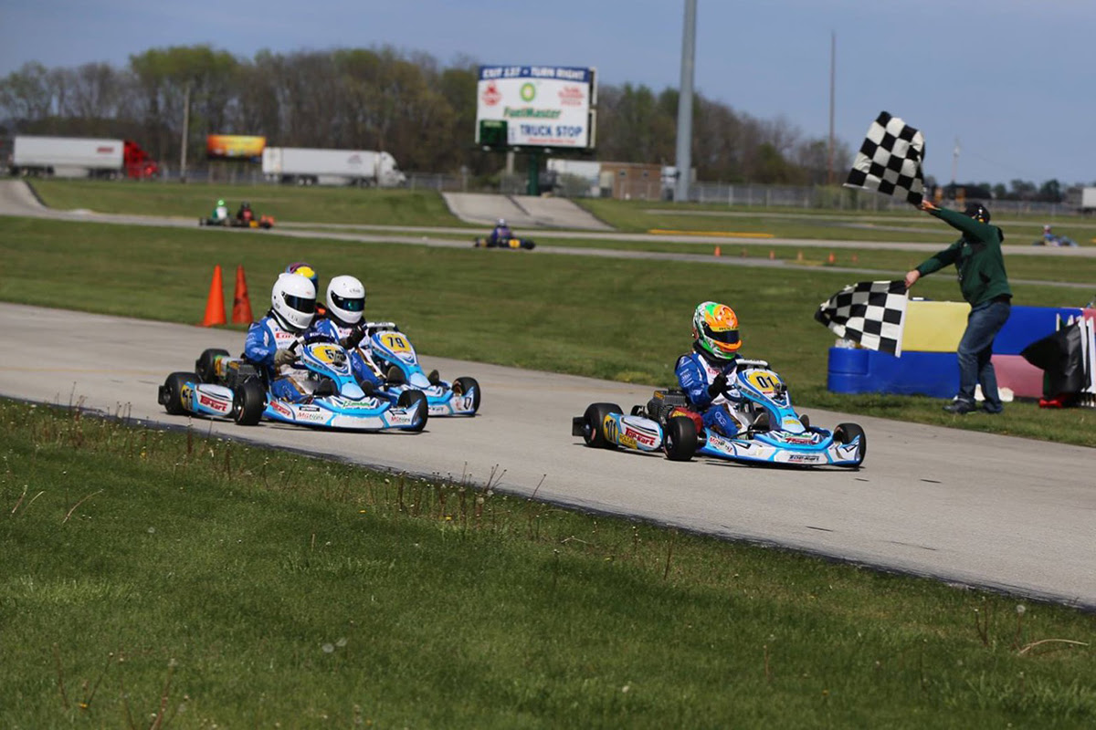 TOP KART USA STANDS ON TOP AT ROUTE 66
