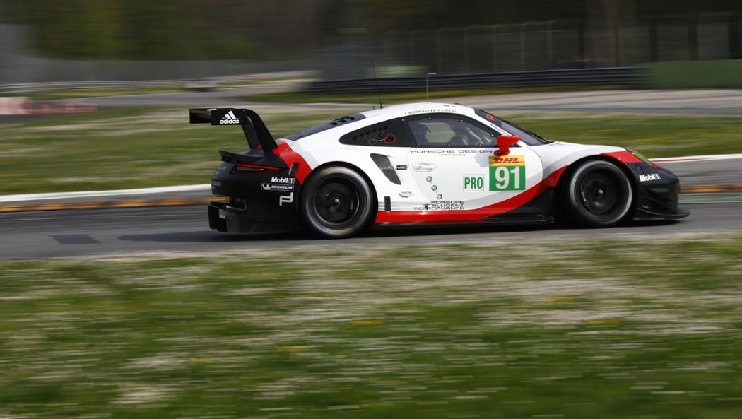 WEC Porsche GT Team names third drivers for Le Mans