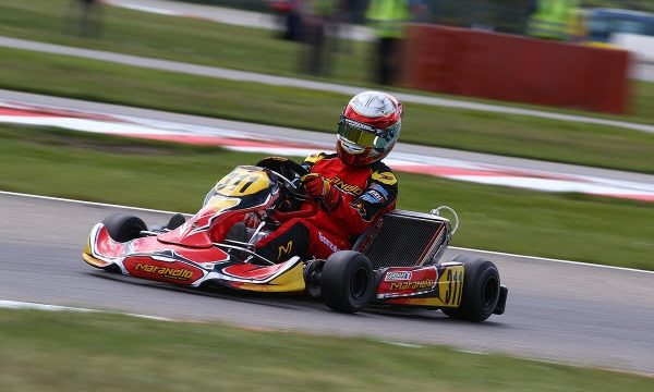 GONZALES AND MARANELLO KART SIXTH IN GENK