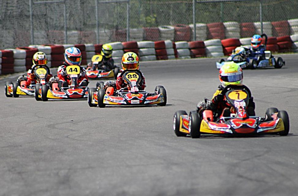 "MINI PODIUM LOCK-OUT FOR MARANELLO KART  AT THE ""DAI TROPHY"" IN WACKERSDORF"