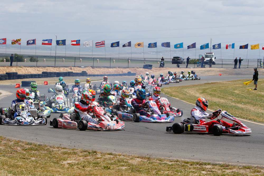 Nine Podiums for Birel ART in Sonoma