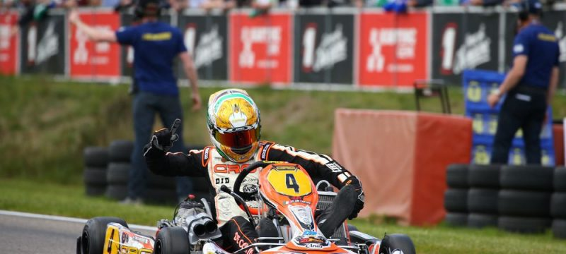 Paolo De Conto claimed the second victory straight on CRG-Tm in Genk