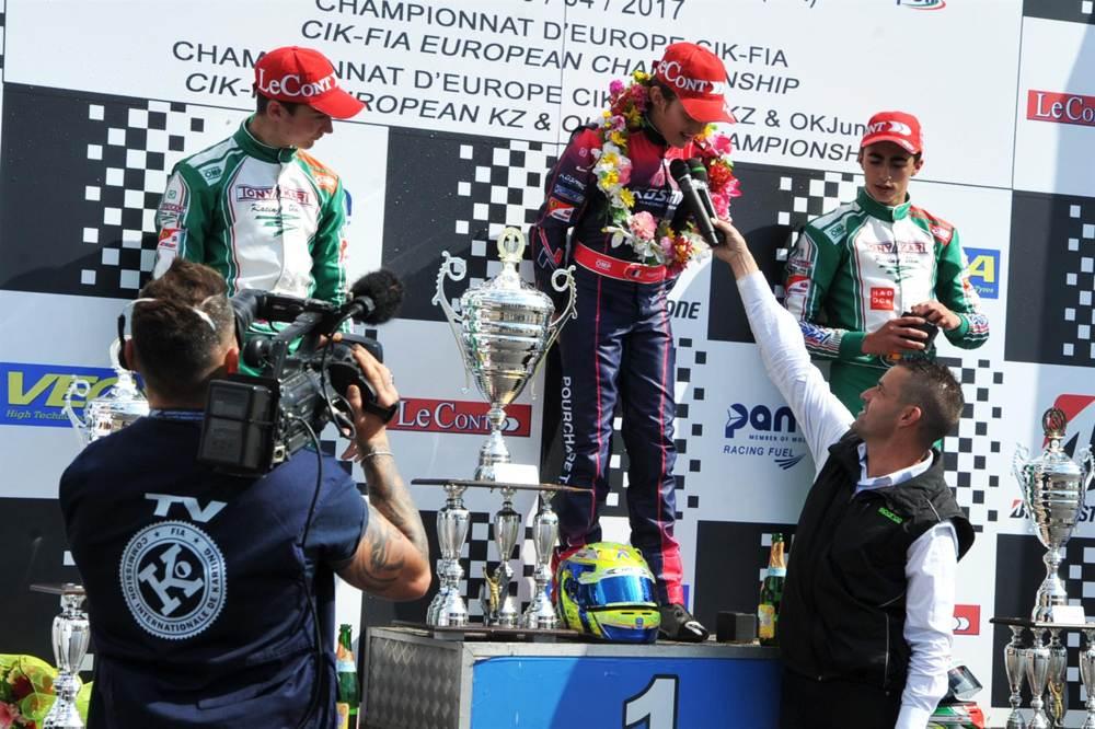Positive result of CIK-FIA events promotion.