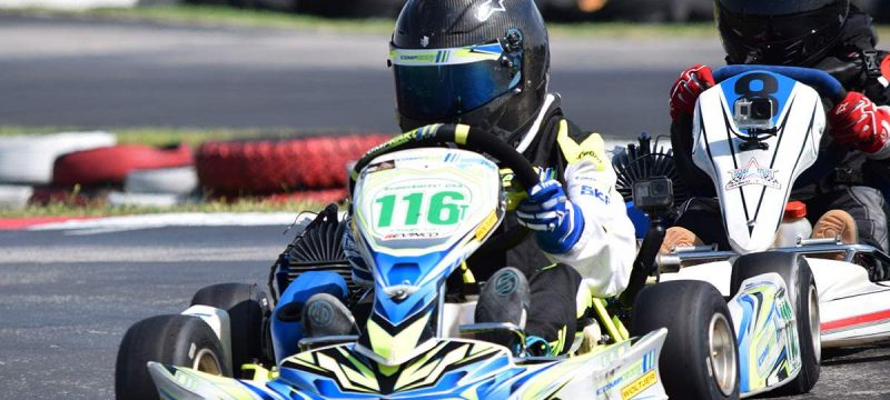 Trackside Karting Services drivers showed great speed in Texas (Photo Carolyn Wiley)
