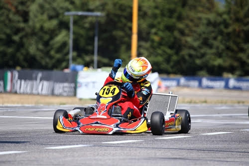 Confirmations and new protagonists at the Italian ACI Karting Championship in Battipaglia