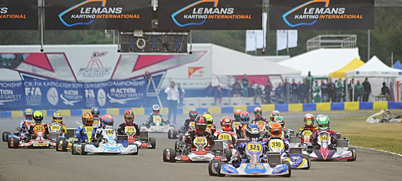 KARTING CIK-FIA EUROPEAN CHAMPIONSHIPS KZ2 – OK – OK JUNIOR AND ACADEMY TROPHY AT LE MANS
