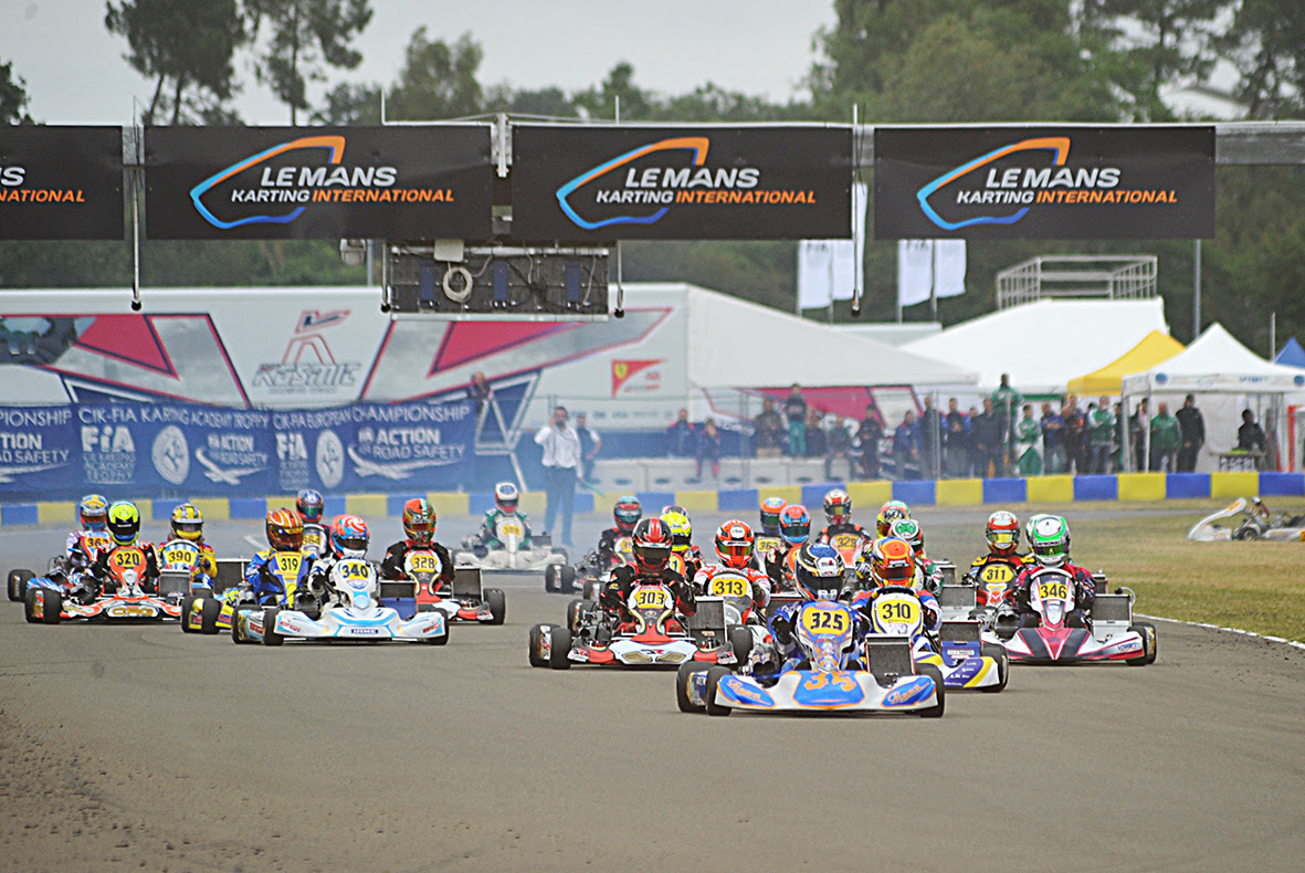 CIK-FIA EUROPEAN CHAMPIONSHIPS KZ2 - OK - OK JUNIOR AND