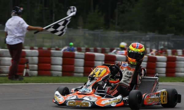 The third round of the German Championship DKM held in Wackersdorf has highlighted the speed of CRG drivers that now are leading KZ2, OK and OK-Junior classifications.