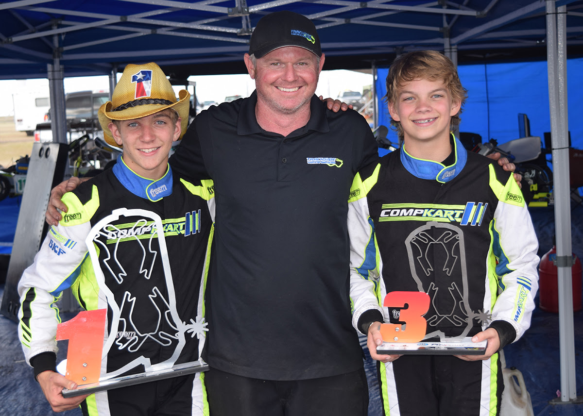 TRACKSIDE KARTING SERVICES ON TOP AGAIN AT ROUND 4 OF TEXAS PRO KART CHALLENGE