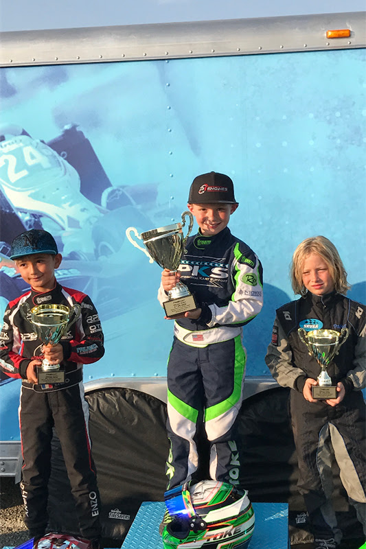 P1 ENGINES EARNS ANOTHER VICTORY IN PRO KART ACTION