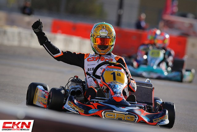 PAOLO DE CONTO AND CRG TAKE THE THIRD WIN HITTING THE JACKPOT IN LAS VEGAS