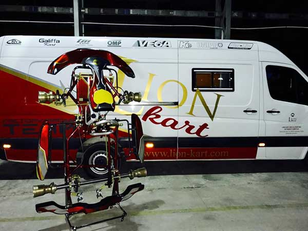 Lammers In at Lion Kart