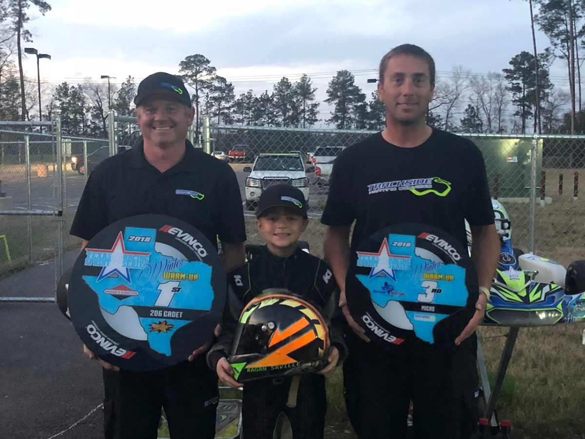 TRACKSIDE KARTING SERVICES WINS IN FIRST EVENT OF 2018 SEASON