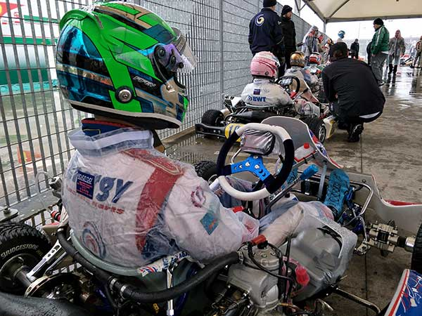 Fifey 6th in Quallie, WSK Super Master Series