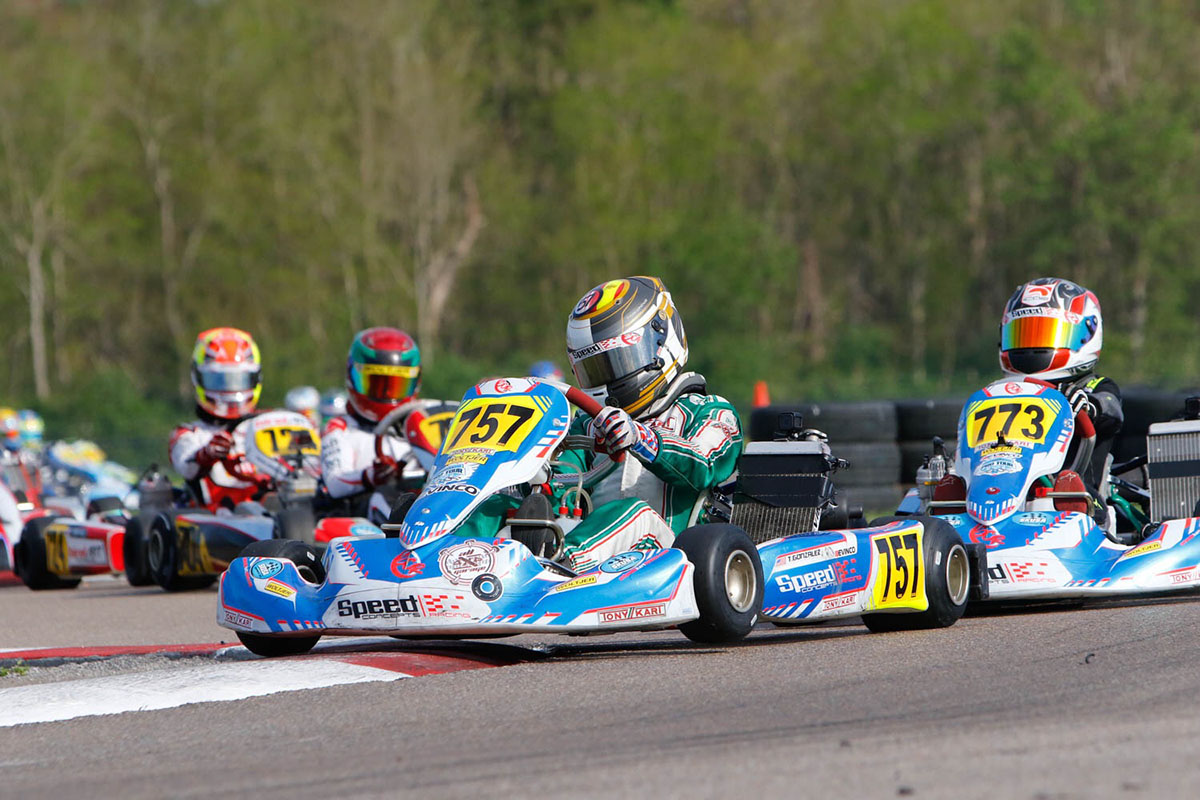 GONZALEZ AND ARSENEAU FINISH 1-2 FOR SPEED CONCEPTS RACING